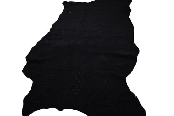 Black Sheepskin hide