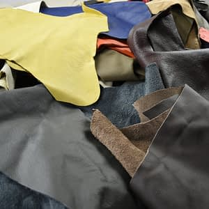 Upholstery Leather Scraps