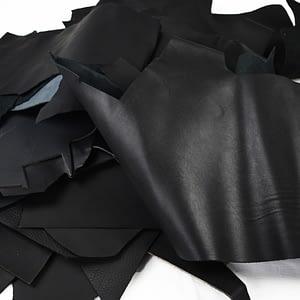 Black Leather Scraps