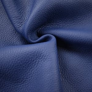 Blue Leather Off Cuts