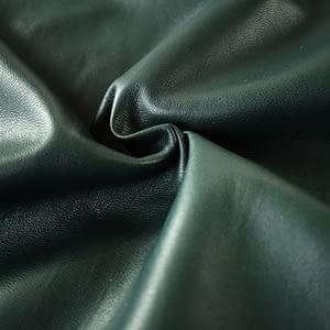 Green sheepskin