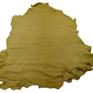 Yellow Sheepskin hides