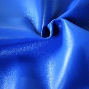 Blue sheepskin