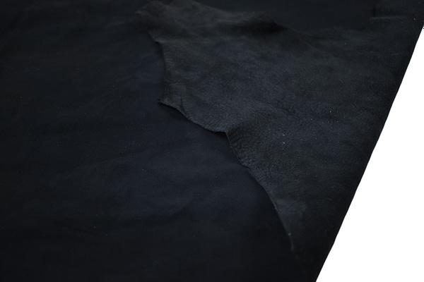 Black Deerskin hide