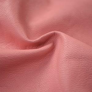 Pink sheepskin